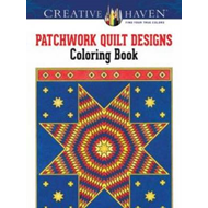 Creative Haven Patchwork Quilt Designs Coloring Book (BOK)