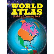 World Atlas Activity and Coloring Book (BOK)