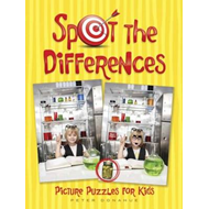 Spot the Differences Picture Puzzles for Kids (BOK)
