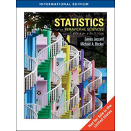 Statistics for the Behavioral Sciences, International Editio (BOK)