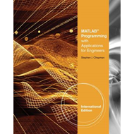MATLAB Programming with Applications for Engineers, Internat (BOK)