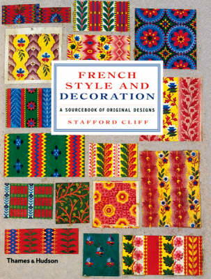 French Style and Decoration: A Sourcebook of Original Designs (BOK)