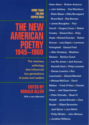 The New American Poetry, 1945-1960 (BOK)