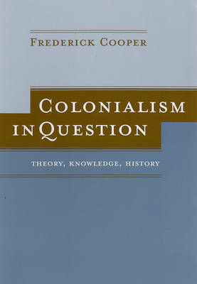 Colonialism in Question (BOK)