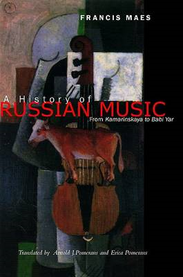 History of Russian Music (BOK)
