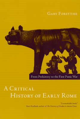 Critical History of Early Rome (BOK)