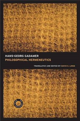 Philosophical Hermeneutics, 30th Anniversary Edition (BOK)