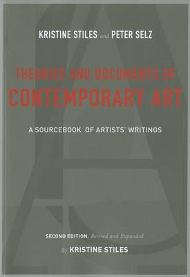 Theories and Documents of Contemporary Art (BOK)