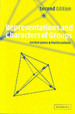 Representations and Characters of Groups (BOK)