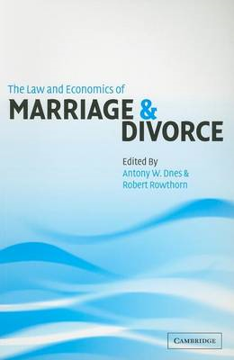 Law and Economics of Marriage and Divorce (BOK)