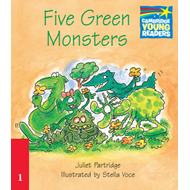 Five Green Monsters ELT Edition (BOK)