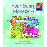 Four Scary Monsters ELT Edition (BOK)