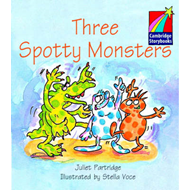 Three Spotty Monsters ELT Edition (BOK)