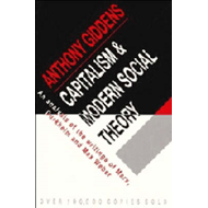 Capitalism and Modern Social Theory (BOK)