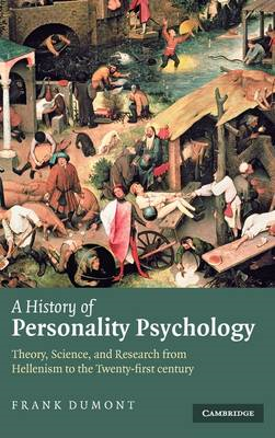 History of Personality Psychology (BOK)