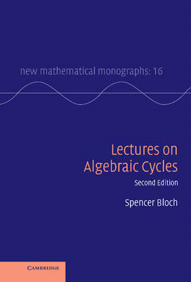 Lectures on Algebraic Cycles (BOK)