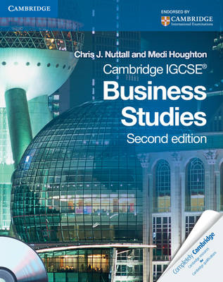 Cambridge IGCSE Business Studies Coursebook with CD-ROM (BOK)