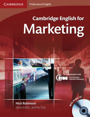 Cambridge English for Marketing Student's Book with Audio CD (BOK)