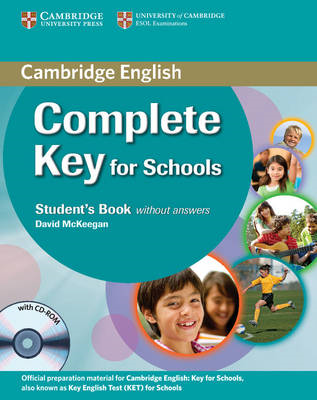 Complete Key for Schools Student's Book without Answers with CD-ROM (BOK)