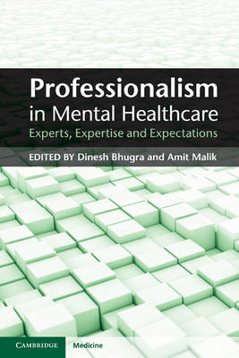 Professionalism in Mental Healthcare: Experts, Expertise and Expectations (BOK)