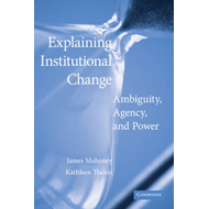 Explaining Institutional Change (BOK)