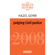Judging Civil Justice (BOK)