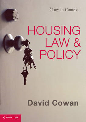 Housing Law and Policy (BOK)