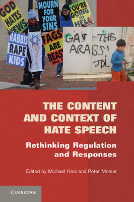 The Content and Context of Hate Speech: Rethinking Regulation and Responses (BOK)