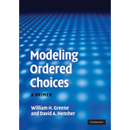 Modeling Ordered Choices: A Primer (BOK)