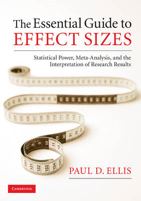 Essential Guide to Effect Sizes (BOK)