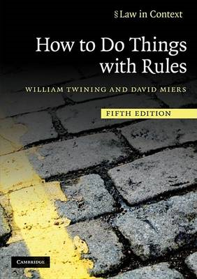 How to Do Things with Rules (BOK)