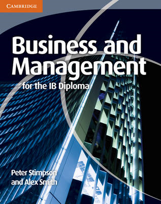Business and Management for the IB Diploma (BOK)