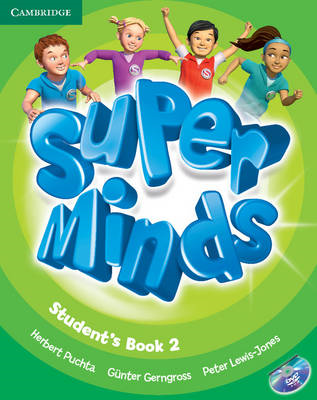 Super Minds Level 2 Student's Book with DVD-ROM (BOK)