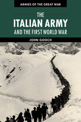 Italian Army and the First World War (BOK)