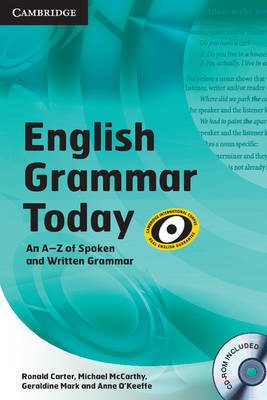 English Grammar Today Book with CD-ROM and Workbook: An A-Z of Spoken and Written Grammar (BOK)