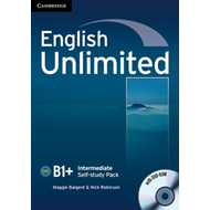 English Unlimited Intermediate Self-study Pack (workbook with DVD-ROM) (BOK)
