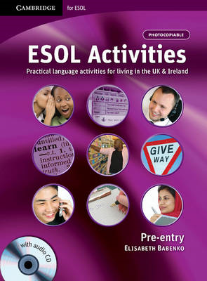 ESOL Activities Pre-entry with Audio CD (BOK)