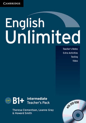 English Unlimited Intermediate Teacher's Pack (teacher's Book with DVD-ROM) (BOK)