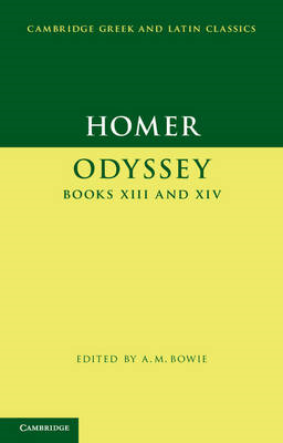 Homer: Odyssey Books XIII and XIV (BOK)
