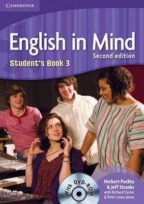 English in Mind Level 3 Student's Book with DVD-ROM (BOK)