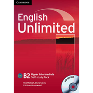English Unlimited Upper Intermediate Self-study Pack (workbook with DVD-ROM) (BOK)