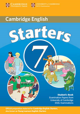 Cambridge Young Learners English Tests 7 Starters Student's (BOK)