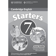 Cambridge Young Learners English Tests 7 Starters Answer Booklet: Examination Papers from University (BOK)