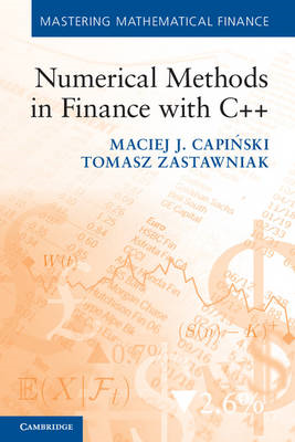 Numerical Methods in Finance with C++ (BOK)