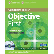 Objective First Student's Book without Answers with CD-ROM (BOK)