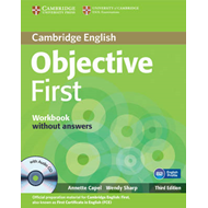 Objective First Workbook without Answers with Audio CD (BOK)