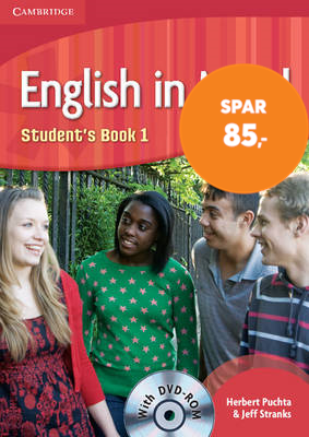 English in Mind Level 1 Student's Book with DVD-ROM (BOK)