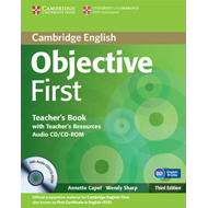 Objective First Teacher's Book with Teacher's Resources Audio CD/CD-ROM (BOK)