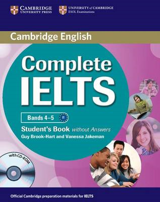 Complete IELTS Bands 4-5 Student's Book without Answers with (BOK)