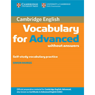 Cambridge Vocabulary for Advanced without Answers (BOK)